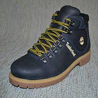 Зимние ботинки желтые шнурки Timberland размер 35 36 38