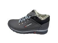 Мужские зимние ботинки с нат.кожи Stael K-2 Black р: 41 44 45