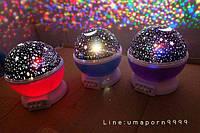 "Дитячий обертовий нічник - проектор стармастер ""Зоряне небо"", Star Master Dream rotating projection lamp, фото 1"