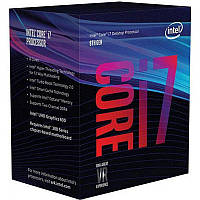 Intel Core i7 8700K 3.7GHz (12MB, Coffee Lake, 95W, S1151) Box (BX80684I78700K) no cooler