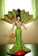 Кукла Барби 1998 Barbie Collectibles-Bob Mackie Fantasy Goddess of Asia Barbie