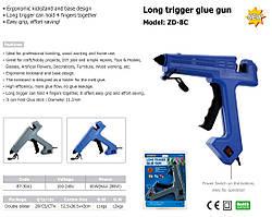 """Клеевой пистолет 11мм -60 280Вт """"Prowest"""" ZD-8C  с выкл."""