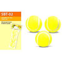 Мячики для тенниса SBT-02 (80уп по 3шт)