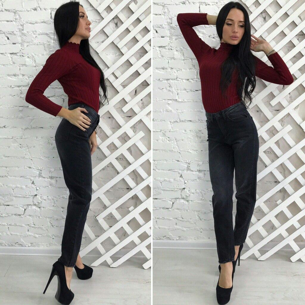 Женские джинсы-момы Турция, фото 1