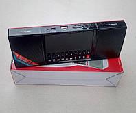 Портативная колонкаWS-1515ВТ Bluetooth, Часы, будильник, радиоприемник