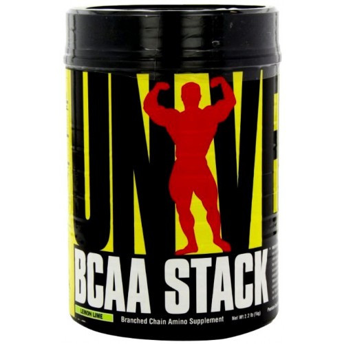 Universal BCAA Stack 1 kg, Юниверсал БЦА Стак 1 кг