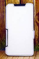 Чехол книжка для Fly FS458 Stratus 7