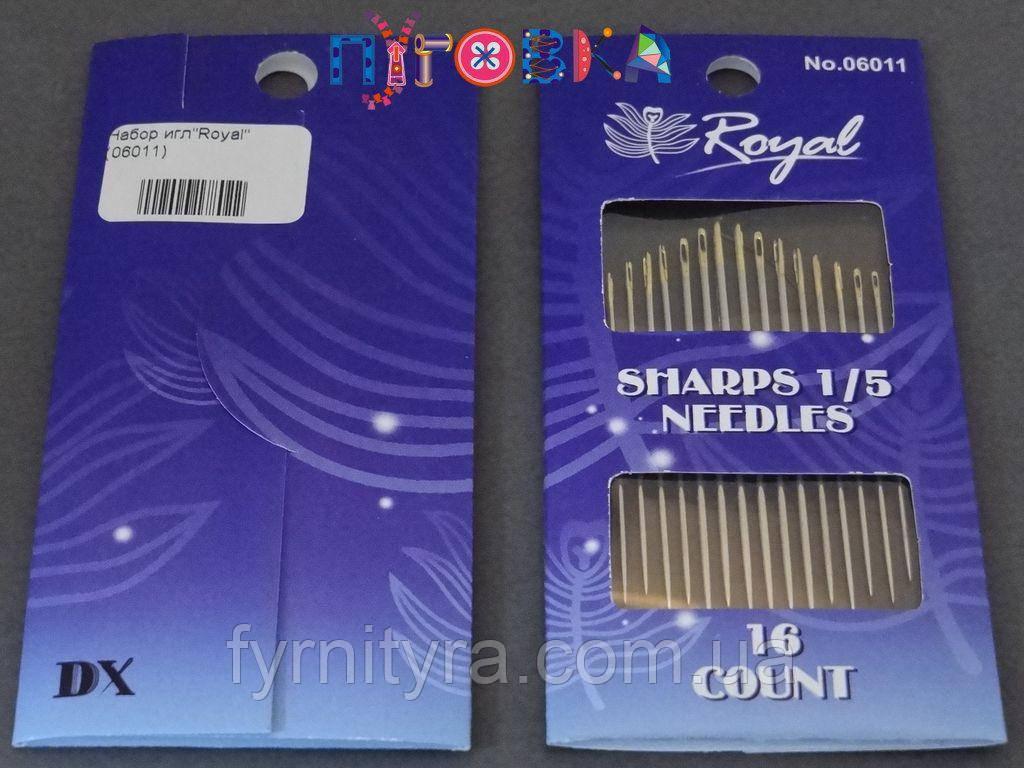"Набор игл""Royal"" Sharps 1/5 06011"
