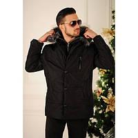 Зимняя мужская куртка Аля черная
