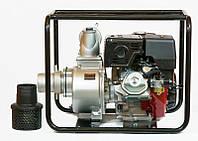 Мотопомпа WMQGZ100-30(Бензин WM192F 18,0л.с.  Патрубок 100мм,  120куб/час)