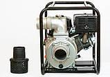 Мотопомпа WMQGZ100-30(Бензин WM192F 18,0л.с.  Патрубок 100мм,  120куб/час), фото 2
