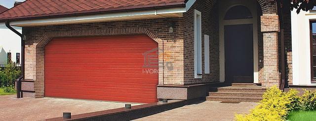 сборка гаражных ворот