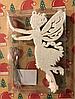 Игрушка новогодняя Ангел для украшения елки