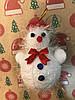 Игрушка новогодняя Снеговик для украшения елки