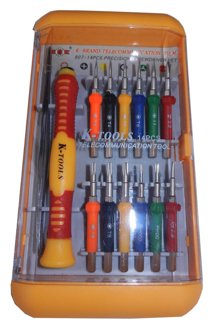 "Отвертка в наборе ""K-Tools"" 907-14 PCS"