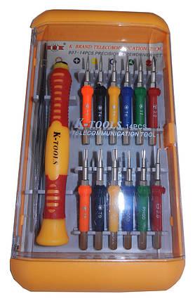 "Отвертка в наборе ""K-Tools"" 907-14 PCS, фото 2"