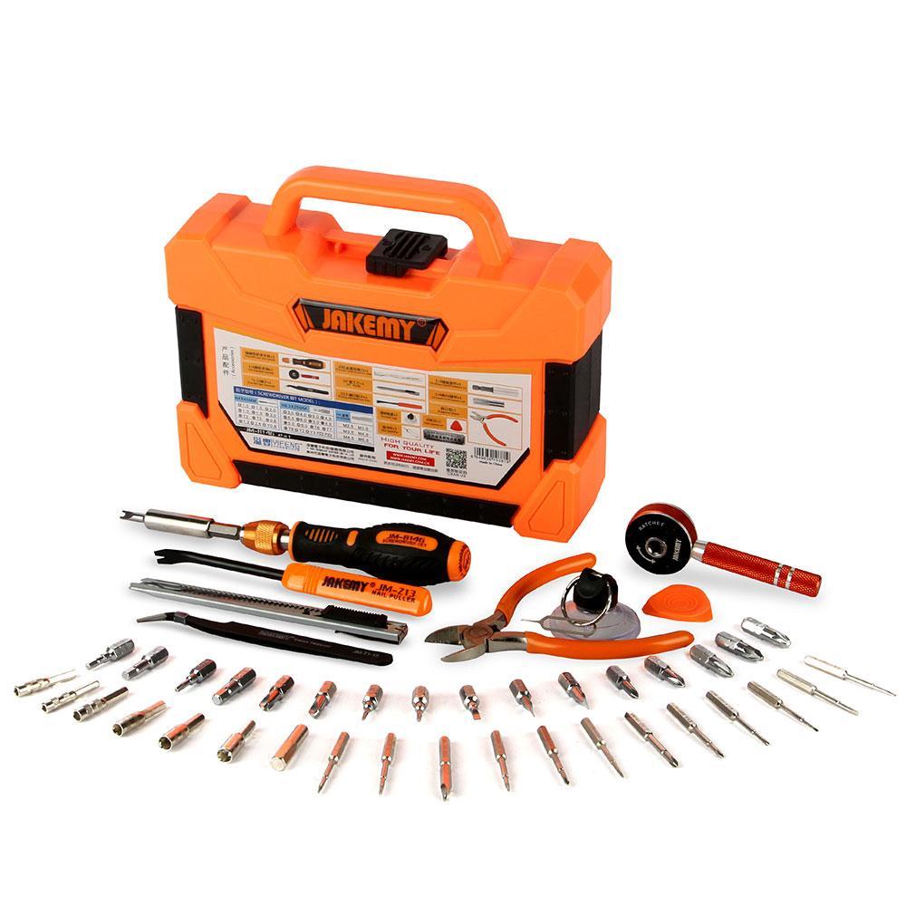 Набор инструментов, отверток, 47 в 1 JAKEMY JM-8146