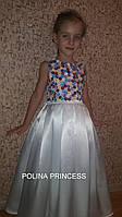 Детское платье белое