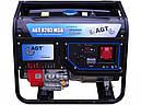 Бензиновый генератор 6,3 кВт AGT 8203 MSB, фото 2