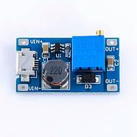 Преобразователь DC-DC повышающий MT3608 micro USB