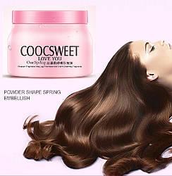 Поживна розгладжуюча маска для волосся BIOAQUA COCOSWEET 500 гр
