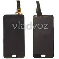 Дисплей модуль экран с сенсором для замены на Meizu M2 mini LCD черный