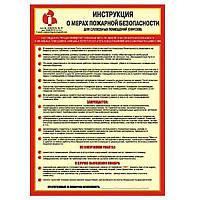 Инструкция о мерах пожарной безопасности для объектов торговли (магазинов)