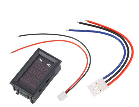 Цифровой вольтметр-амперметр DC 0-100V , 10A