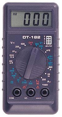 Мультиметр DT182, фото 2