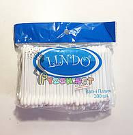 Ватные палочки 200 шт Lindo