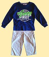 Костюм для мальчика - синий реглан и брюки, 3г., 4г.