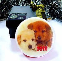 Корпоративные сувениры к новому году 2018 - году собаки Символ года