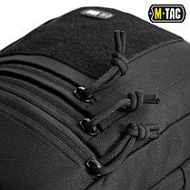 M-Tac сумка-кобура наплечная с липучкой Кордура, Черный, фото 2