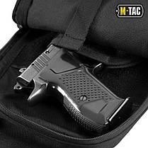 M-Tac сумка-кобура наплечная с липучкой Кордура, Черный, фото 3