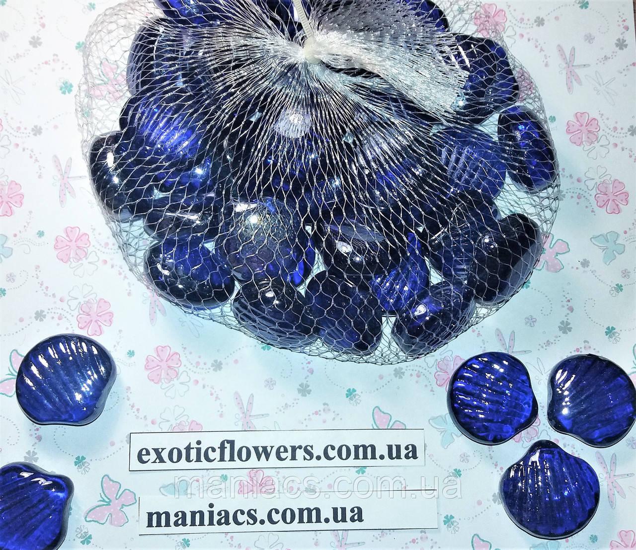 Декоративный стеклянный камень, Ракушка