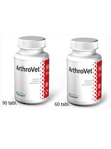 Артровет Vet Expert ArthroVet HA для профилактики и лечения нарушений нормальных функций суставных хрящей и суставов, 90 таб