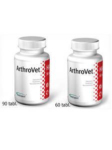 Артровет Vet Expert ArthroVet HA для профилактики и лечения нарушений нормальных функций суставных хрящей и суставов, 90 таб, фото 2