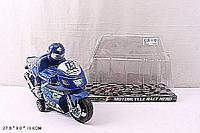 Мотоцикл инерц.3375 (3388) (96шт/2) 2 цвета, р-р игр.27*9*17см, в пакете 30*28см