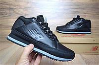 Зимние кроссовки New Balance 754 black без меха. Живое фото (Реплика ААА+)