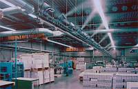 Промышленная система увлажнения воздуха  на примере типографии (промышленный увлажнитель)