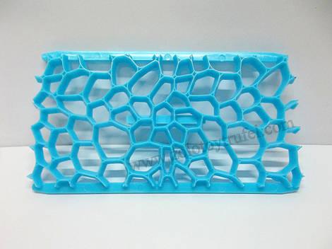 """Текстурированный коврик """"Сетка из пузырей"""" 15*8 см"""