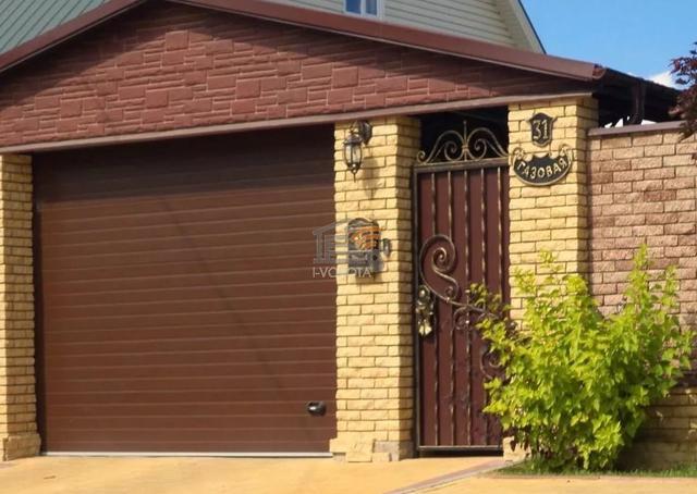 гаражные ворота механические