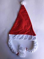 Шапка новогодняя с косичками, фото 1