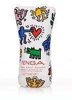 Tenga Keith Haring Soft Tube Cup - лучшая секс игрушка для мужчин!