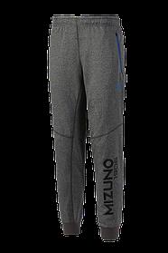 Брюки спортивные (серый меланж) Mizuno Heritage Rib Pants K2GD7502-07