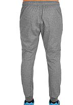 Брюки спортивные (серый меланж) Mizuno Heritage Rib Pants K2GD7502-07, фото 3