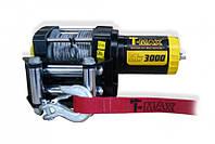 Лебедка электрическая для квадроциклов и ATV T-MAX ATW-3000 DC