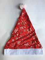 Новогодняя шапка Деда Мороза (Санта Клауса)