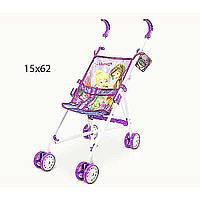 Коляска для куклы Disney - Fairies D1001F (24шт/2) метал.летняя,  8 колес,  крутящиеся,  53*25*47 см.