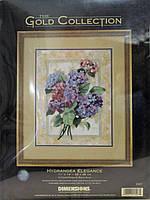 DIMENSIONS Набор для вышивания Hydrangea Elegance / Гортензия